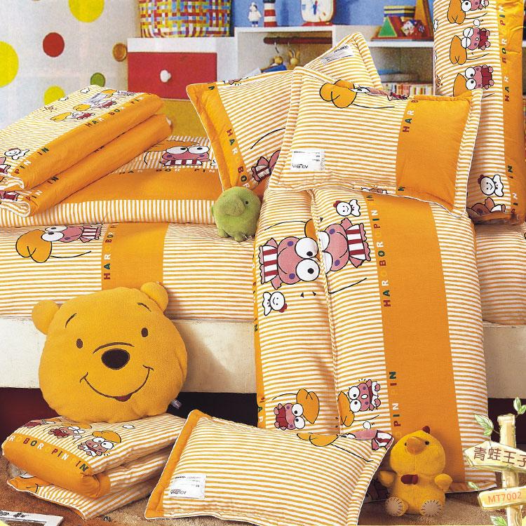 幼儿园棉被套装-青蛙王子mt7002