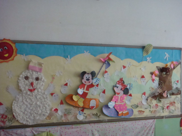 如何做幼儿园冬天环境创设